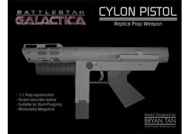 cylon-pistol-battlestar-galactica -kit168.com