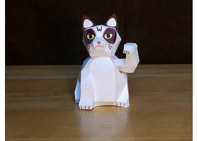 maneki-neko-grumpy-cat -kit168.com