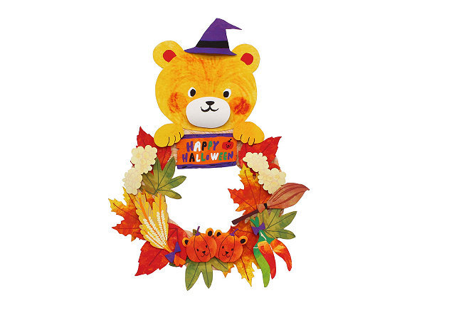 halloween-wreath-teddy-bear -kit168.com