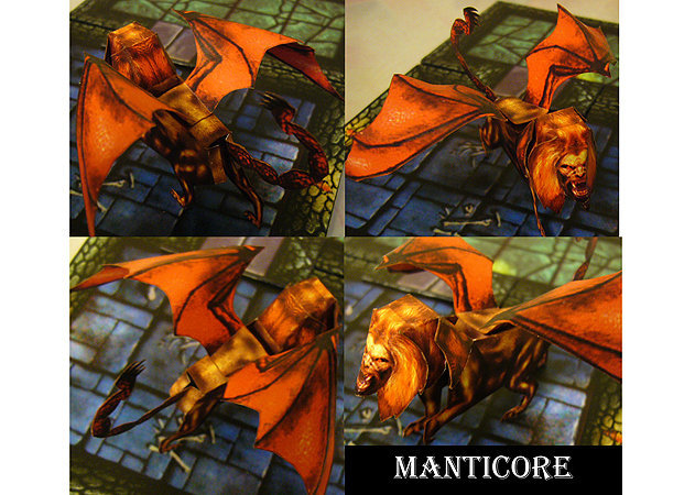 manticore-bone-golem-fantasy -kit168.com