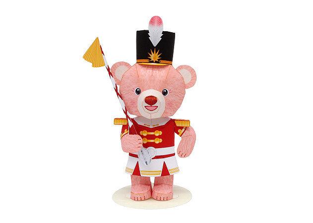 mini-teddy-bear-drum-major -kit168