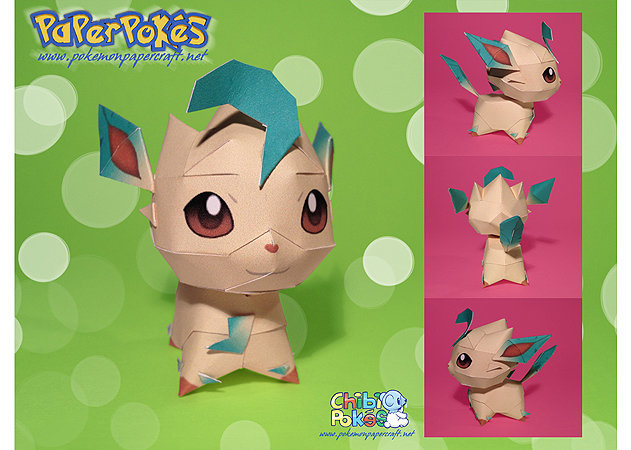 pokemon-leafeon-chibi -kit168.com