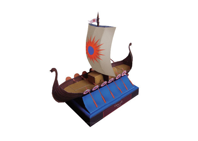 viking-ship -kit168