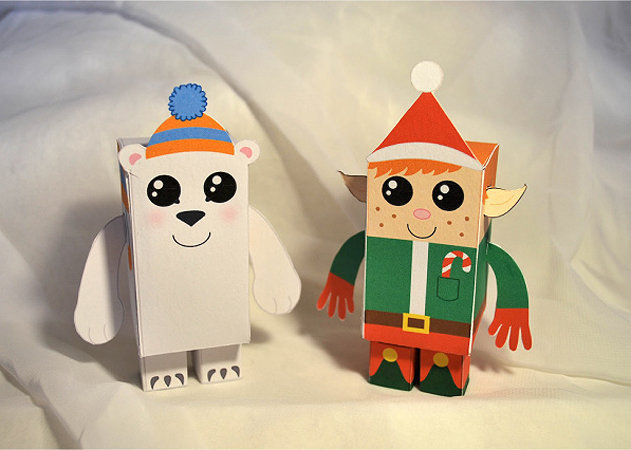 christmas-papertoys-de-samantha-eynon-1 -kit168.com