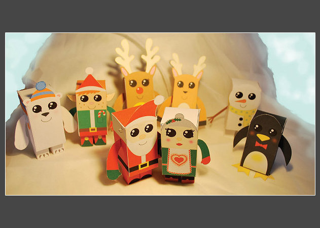 christmas-papertoys-de-samantha-eynon -kit168.com