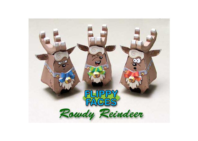 flippy-faces-rowdy-reindeer -kit168.com
