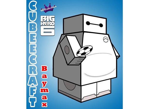 baymax-cubeecraft-big-hero-6 -kit168.com