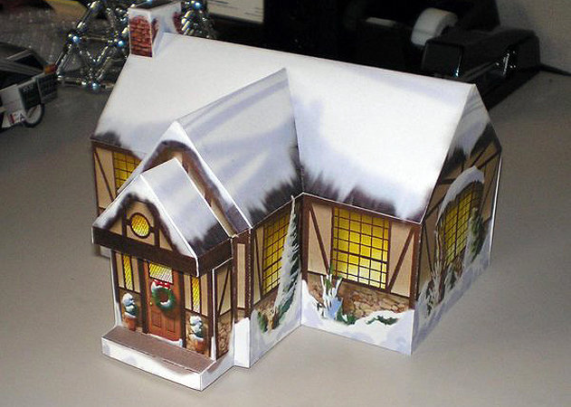 christmas-cottage -kit168.com