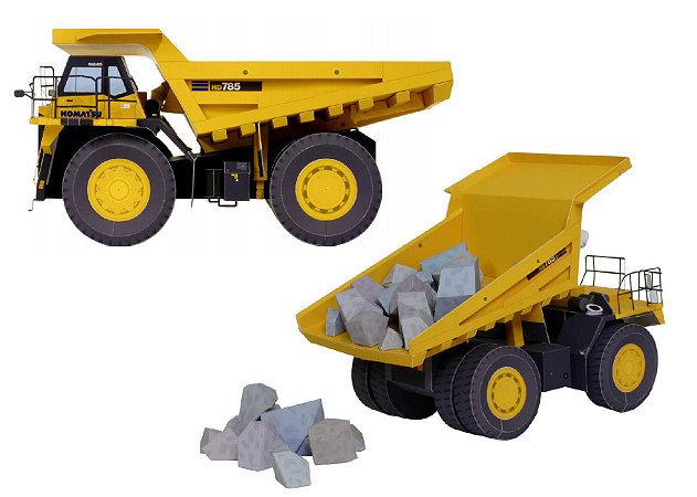 dump-truck-1 -kit168.com