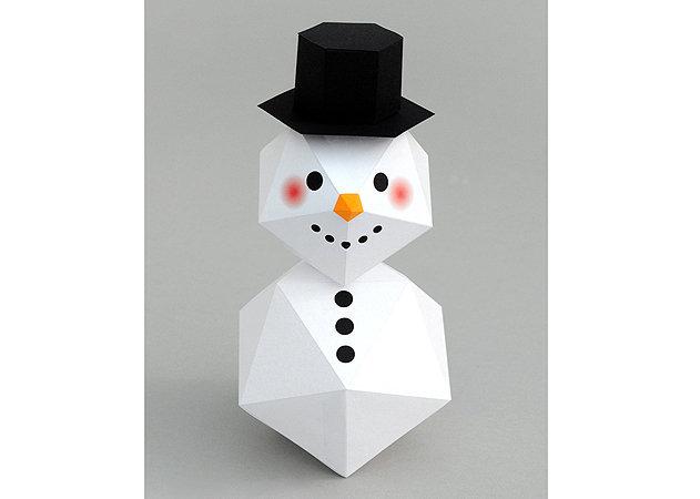 geometic-snowman -kit168.com