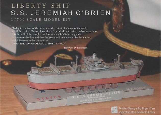 liberty-ship-ss-jeremiah-obrien -kit168.com