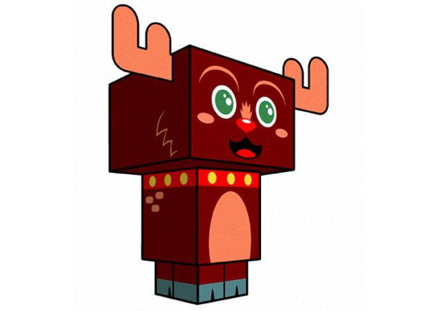 reindeer-christmas-clone -kit168.com