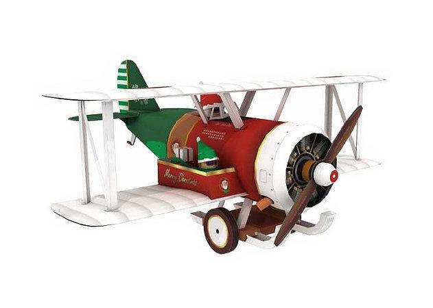 santa-biplane -kit168.com