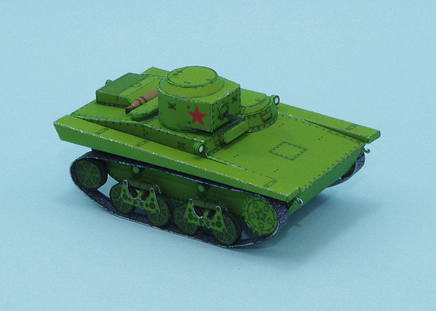 t-37a-amphibious-light-tank-1 -kit168.com