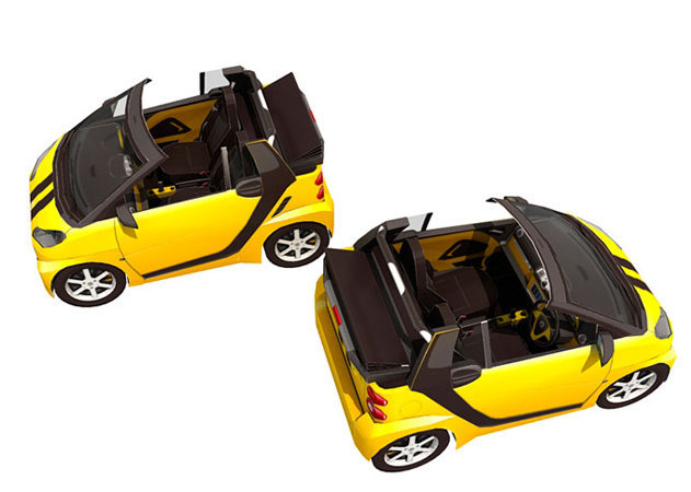 yellow-smart-cabrio -kit168.com