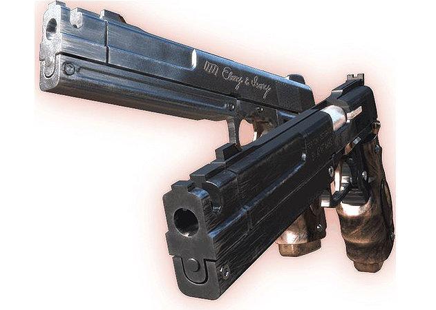 dmc-ebony-ivory-gun -kit168.com