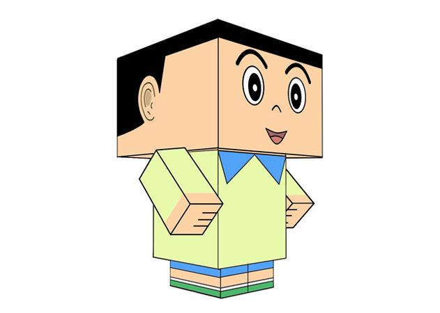 hidetoshi-dekisugi-cubeecraft-doraemon -kit168.com