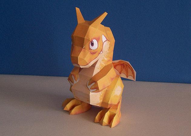 pepakura-dragon -kit168.com