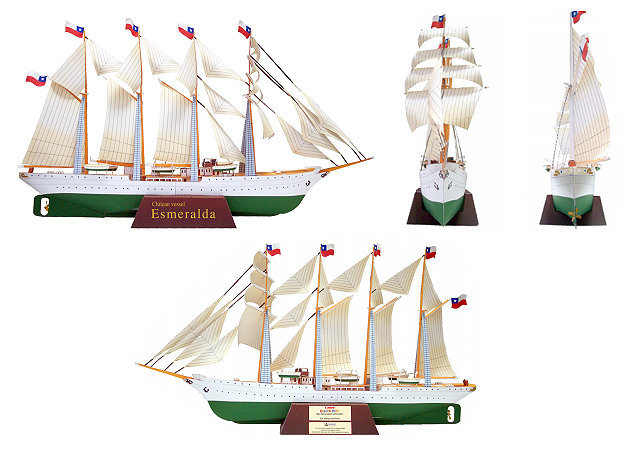 sailship-esmeralda-1 -kit168.com