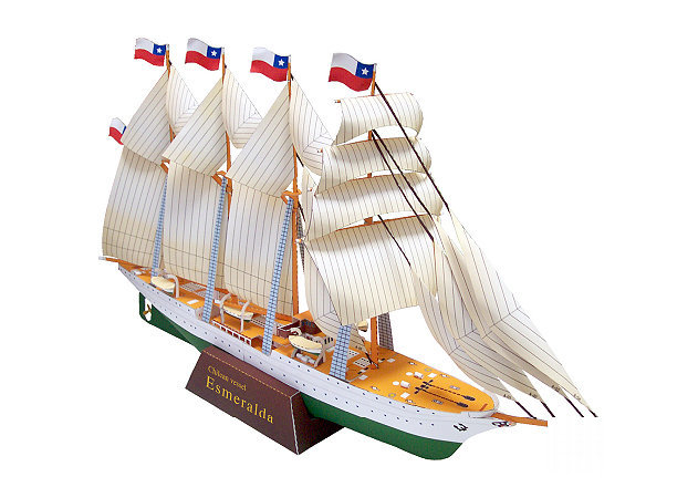 sailship-esmeralda -kit168.com