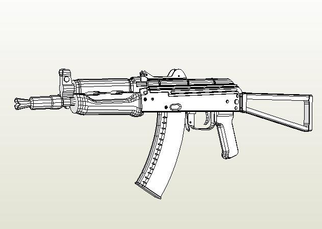aks-74-assault-rifle -kit168.com