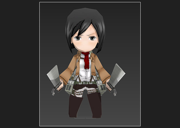 chibi-mikasa-ackerman-ver-3-attack-on-titan-1 -kit168.com