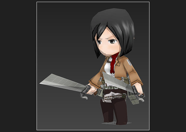 chibi-mikasa-ackerman-ver-3-attack-on-titan-2 -kit168.com