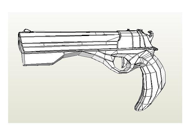 dantes-ebony-ivory-pistol-devil-may-cry -kit168.com