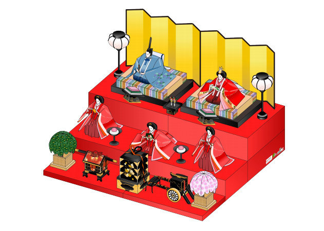 hinakazari-doll-decoration-1 -kit168.com
