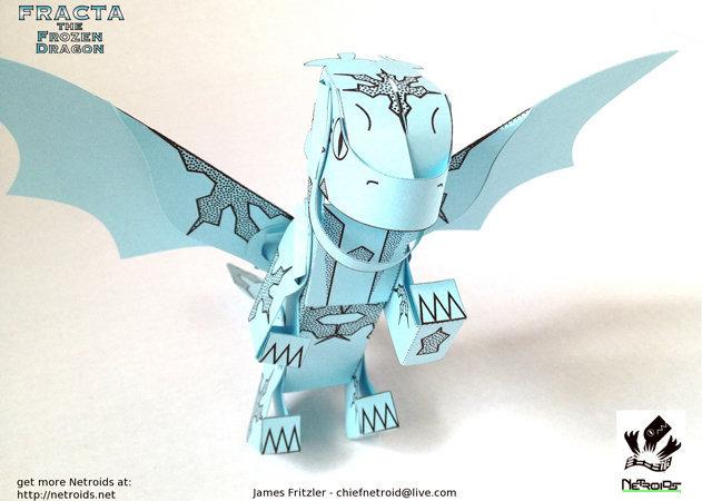 netroid-fracta-the-frozen-dragon-1 -kit168.com