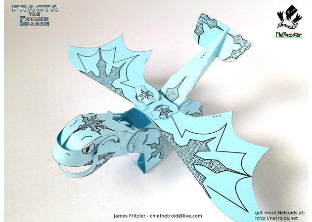 netroid-fracta-the-frozen-dragon -kit168.com