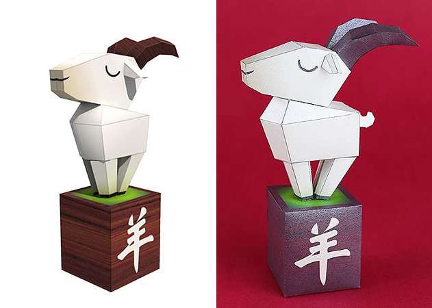 wooden-goat-2015-year-of-the-sheep -kit168.com