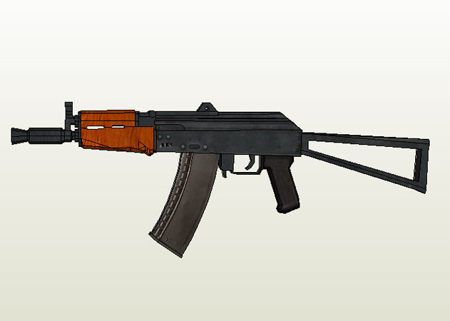 aks-74u-assault-rife -kit168.com
