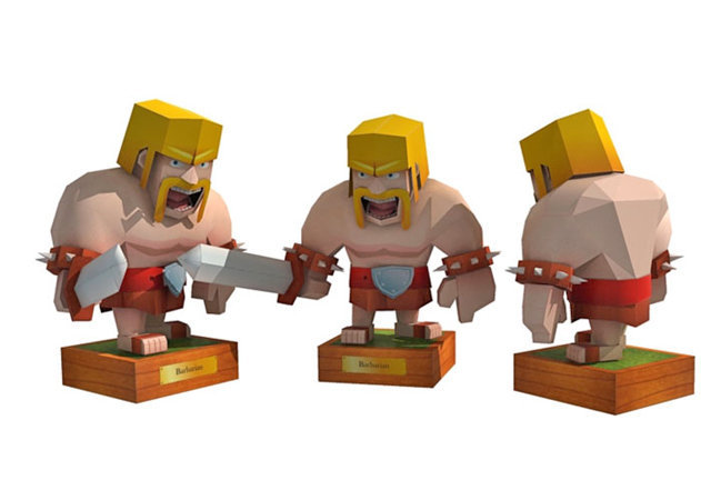 barbarian-clash-of-clans -kit168.com