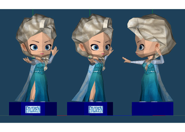 chibi-elsa-the-snow-queen-frozen-1 -kit168.com