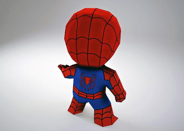chibi-spiderman-3 -kit168.com