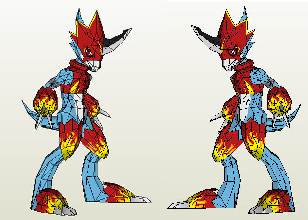 digimon-flamedramon-1 -kit168.com