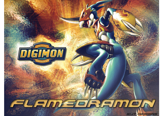 digimon-flamedramon-2 -kit168.com