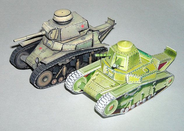 t-18-light-tank-1 -kit168.com