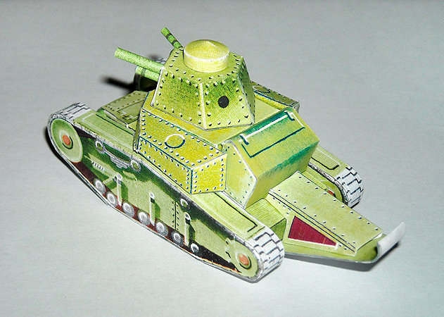 t-18-light-tank -kit168.com