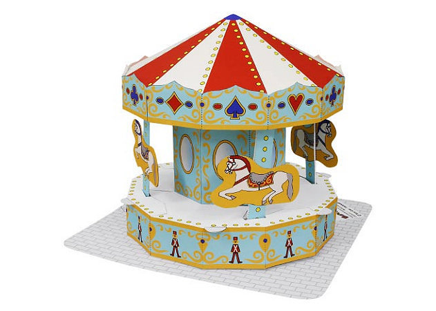 amusement-park-merry-go-round -kit168.com