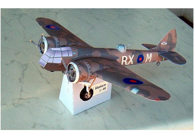 bristol-blenheim-bomber-1 -kit168.com