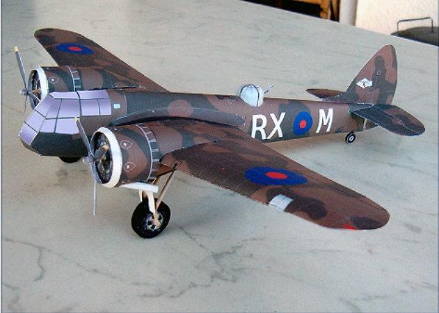 bristol-blenheim-bomber -kit168.com