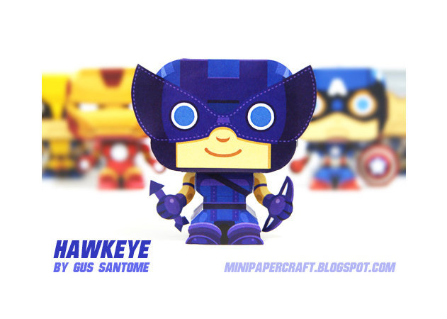 hawkeye-the-archer-mini-1 -kit168.com