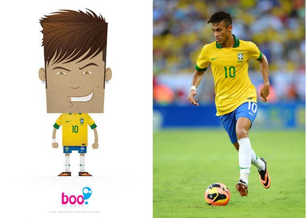 neymar-brazilian-soccer-player -kit168.com