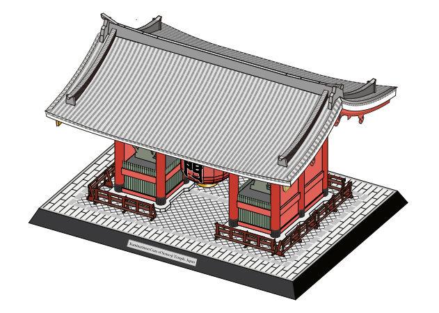 kaminarimon-gate-of-senso-ji-temple-japan-4 -kit168.com