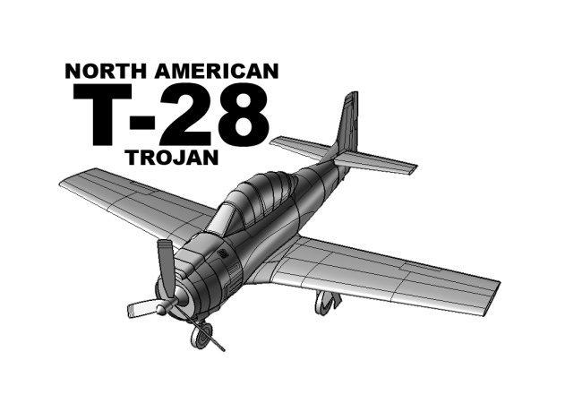 north-american-t-28-orange-1 -kit168.com