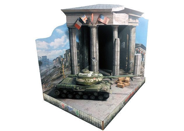 wwii-is-2-heavy-tank-diorama-world-of-tanks-2 -kit168.com