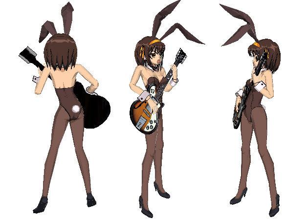 bunny-costume-suzumiya-haruhi-the-melancholy-of-haruhi-suzumiya-1 -kit168.com