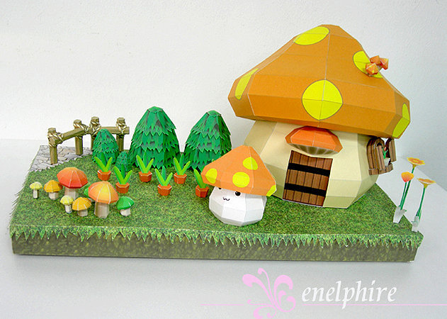 mushmom-house-maple-story -kit168.com